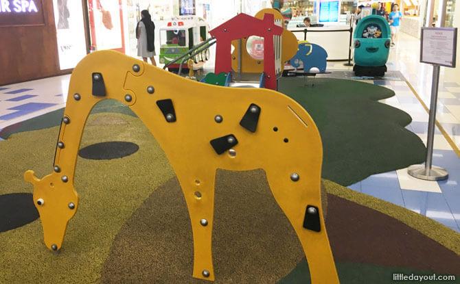 Giraffe at Clementi Mall Children's Playground