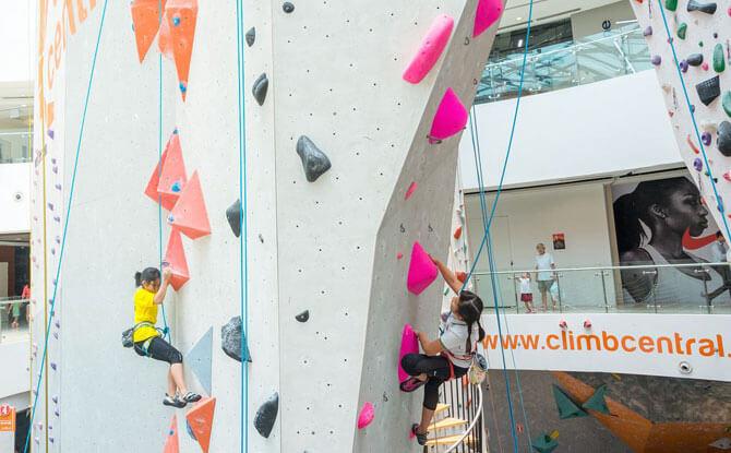 Climb Central - Rock Climbing