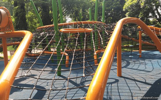 Climbing Nets Rampways