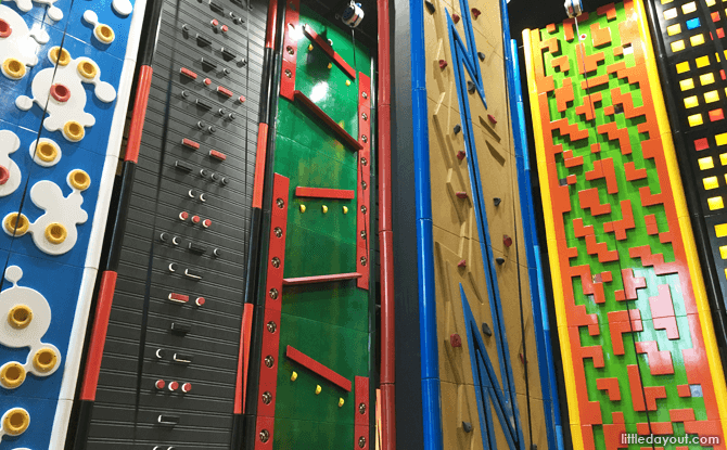 Climbing Walls at Clip 'n Climb