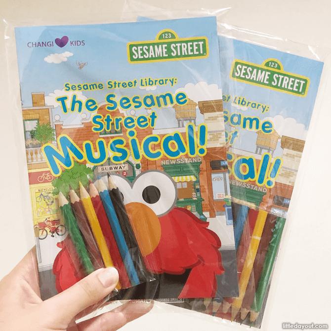Sesame Street Colouring Books