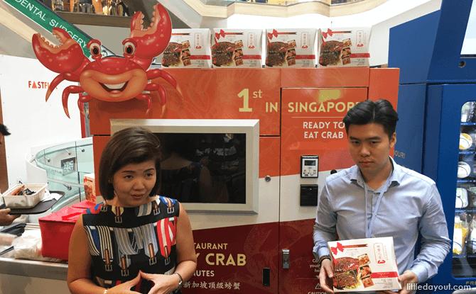 Chili Crab Vending Machine, VendFest