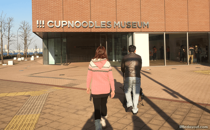 Cupnoodles Museum in Yokohama, Japan