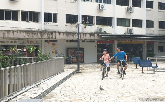 Cycling lessons at Queens Road