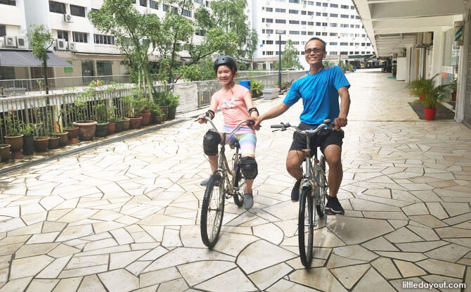 Cycling Lessons in Singapore: Learning To Ride At Queens Road