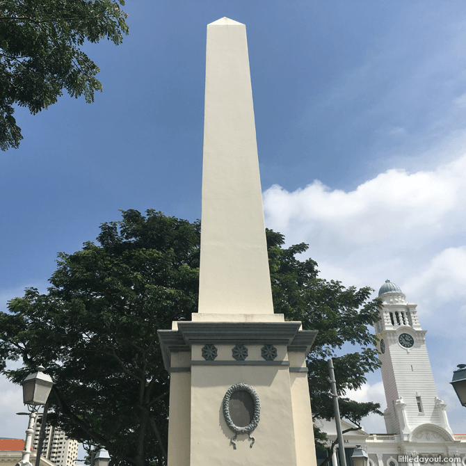 Dalhousie Obelisk, Singapore's Civic District