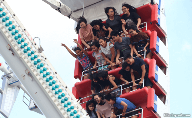 Riders on Das Fun Schiff