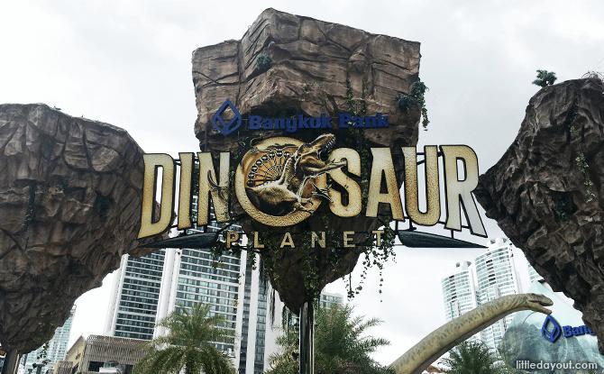 Bangkok's Dinosaur Planet