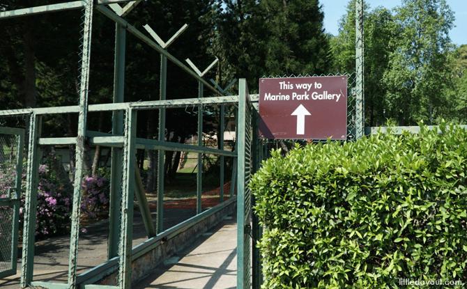 Path to Marine Park Gallery, St John's Island