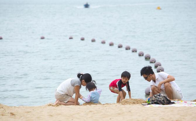 Tai Pak Beach at Discovery Bay