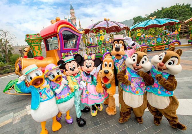 Disney Friends Springtime Carnival at Hong Kong Disneyland