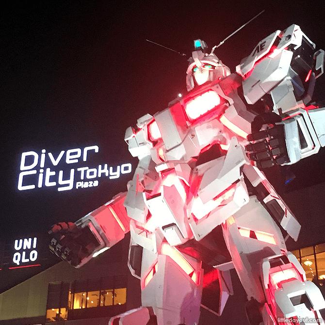 Gundam at Diver City Tokyo Plaza