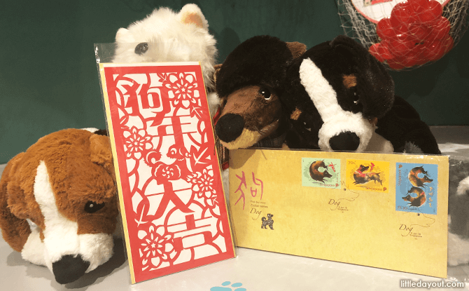 Dog cards and stamps