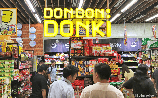 Don Don Donki Harbourfront Centre Opens 30 October 2020