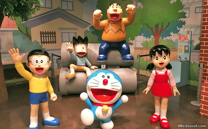 Doraemon Waku Waku Sky Park, New Chitose Airport, Hokkaido