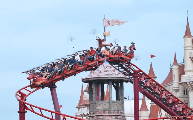Enchanted Airways Junior Rollercoaster