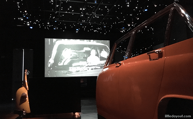 Drive In Movie Installation at National Museum of Singapore
