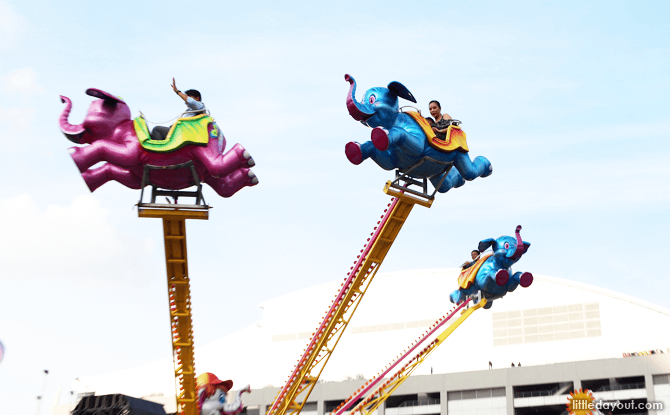 Dumbo Ride, Prudential Marina Bay Carnival