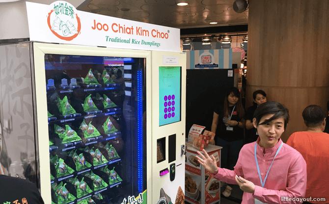 Rice Dumpling Vending Machine, VendFest