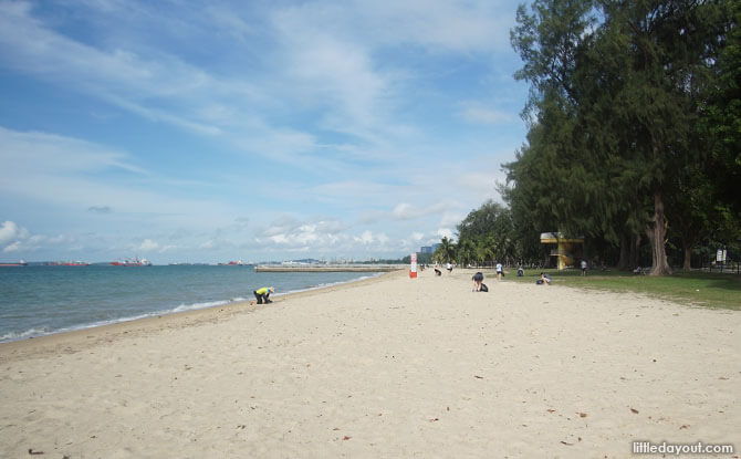 East Coast Park Beach