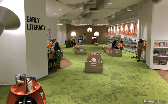 Early literacy section, Bedok Public LIbrary