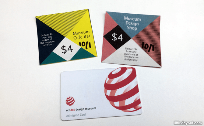 Red Dot Design Museum Admission Ticket and Vouchers