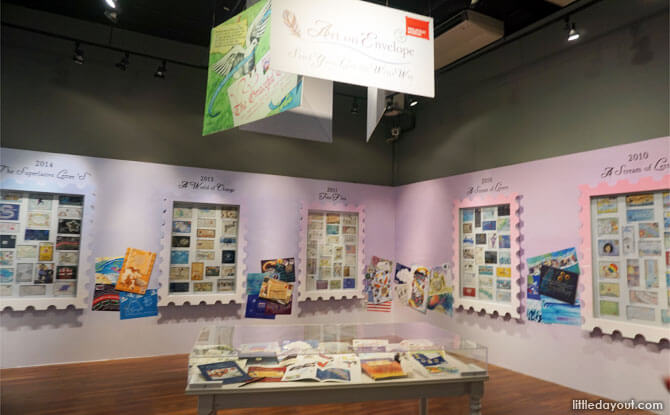 You've Got Mail Exhibition at Singapore Philatelic Museum