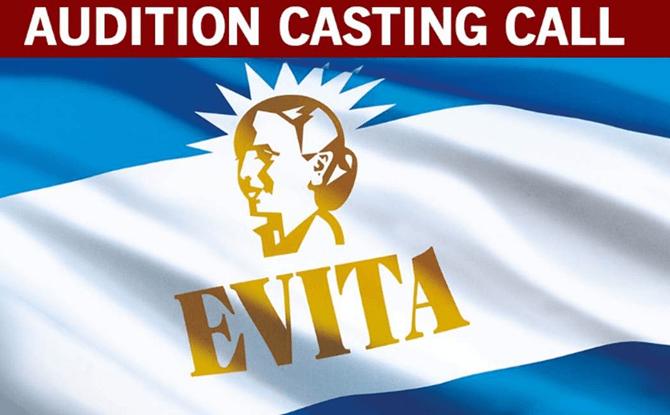 Evita auditions for children