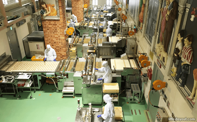 Factory Floor on the Ishiya Chocolate Factory Tour