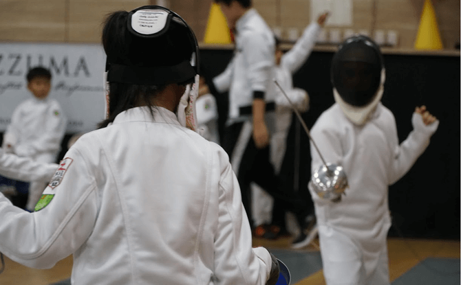 Fencing Holiday Workshops in Singapore