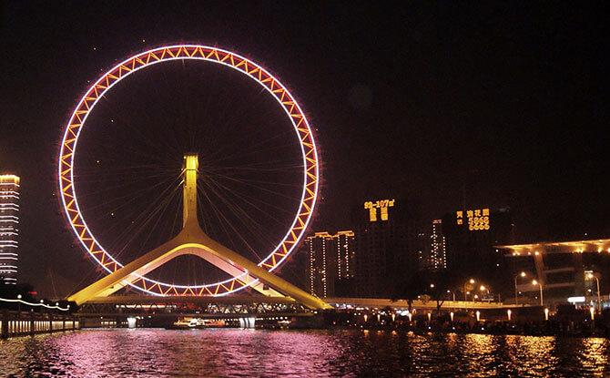 Soar Onboard the Tianjin Eye