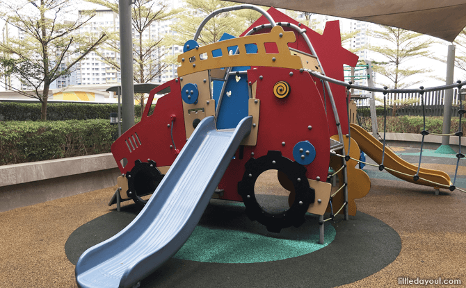 Main play structure, The Seletar Mall Playground