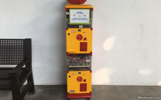 Fish Food Vending Machine