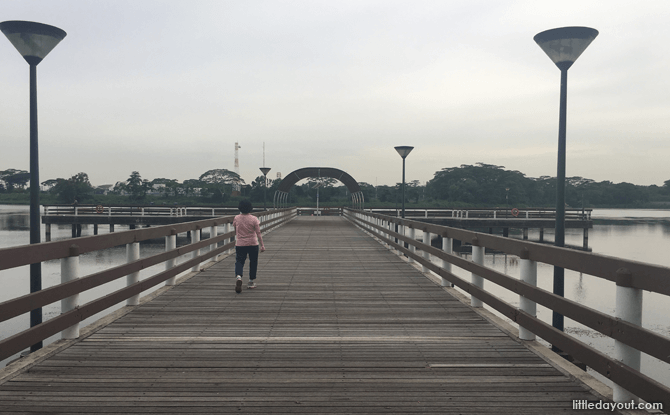 Fishing Deck, Lower Seletar Reservoir Park
