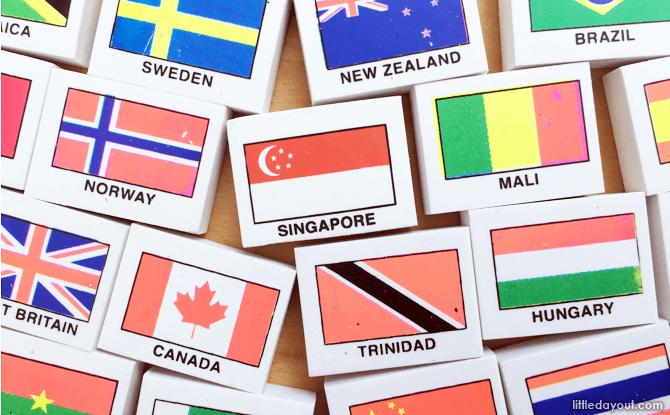 Flag Eraser - Traditional Old School Games