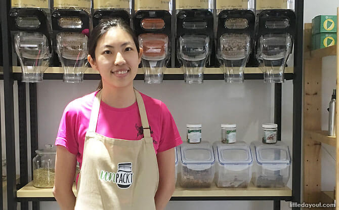 UnPackt: Zero-waste Grocery Shopping In Singapore
