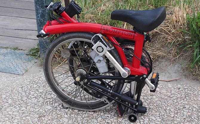 Advantages of a foldable bike versus a regular bike?