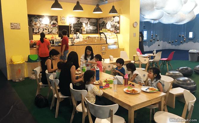 Nana's Cafe at Imaginia Playland, Bangkok