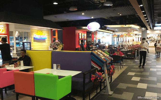 Food court at Terminal 21