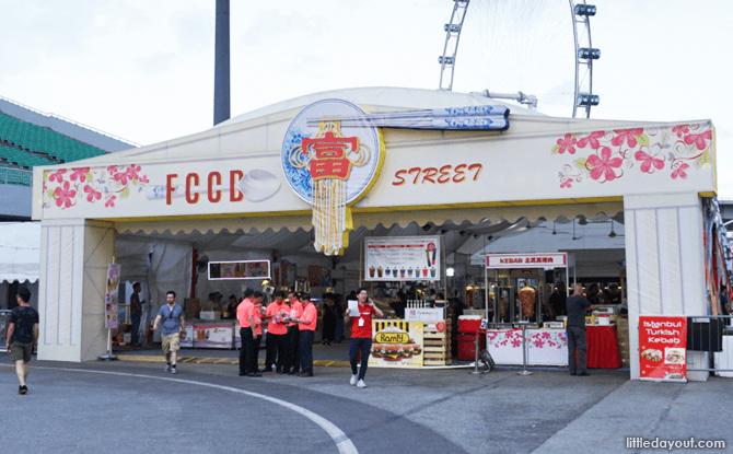 Food street at River Hongbao 2018