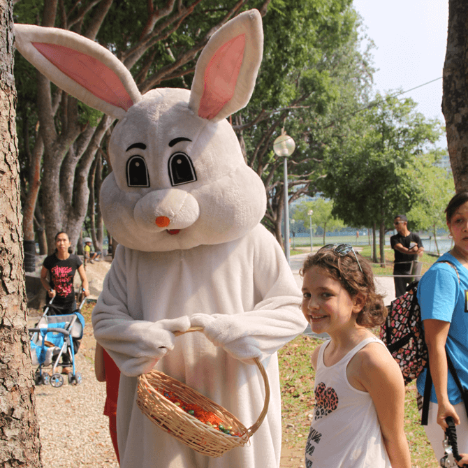 Eggciting Forest Adventure - Easter Egg Hunts In Singapore 2018