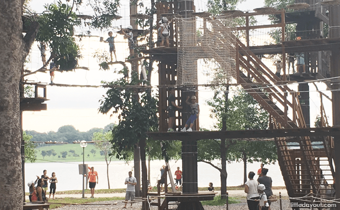 Forest Adventure, Bedok Reservoir Park - unusual Valentine's Day 2020 ideas