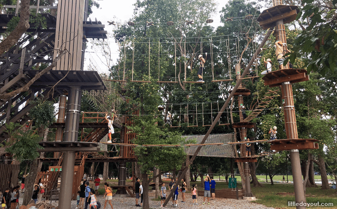 Forest Adventure - Obstacle Course in Singapore