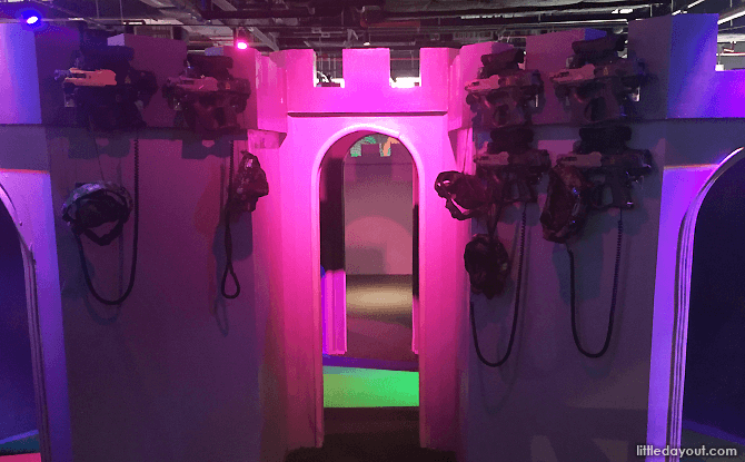 Laser Tag Fort
