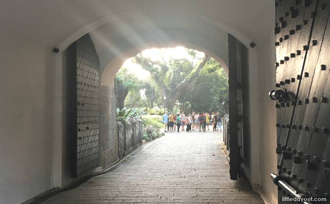 Fort Canning Park: Beauty and History