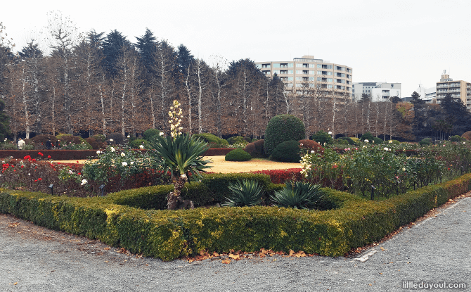 The well-manicured French Formal Gardens