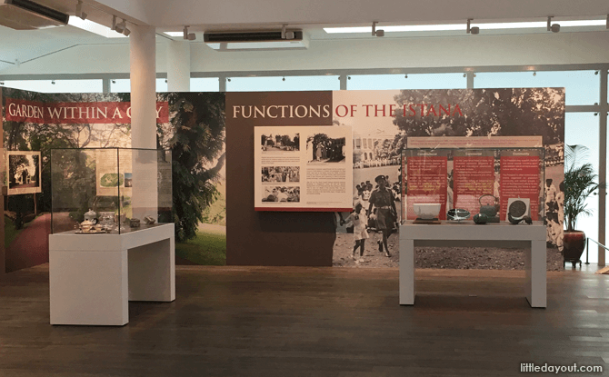 Interior of Istana Heritage Gallery