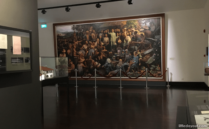 Echoing the Establishment of the Republic of China from a faraway Nanyang gallery