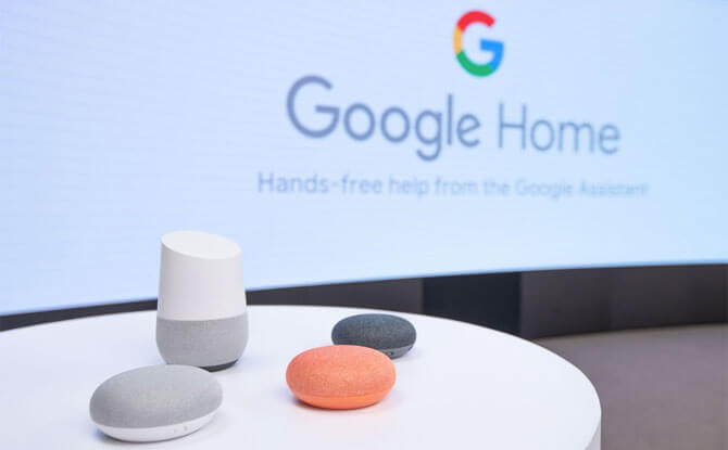 Google Home in Singapore