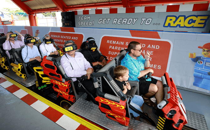 The Great LEGO Race at LEGOLAND Malaysia Resort